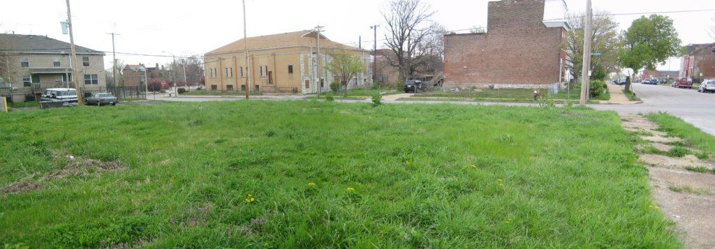 Fresh Starts Community Garden - Before picture