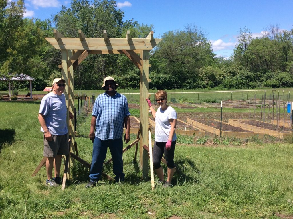 Florrisant Community Garden Expansion 2016