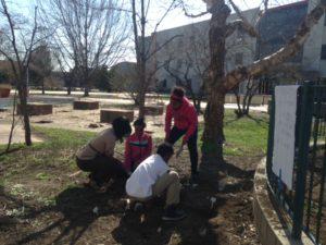 Blog LaTosha Hayes with Students