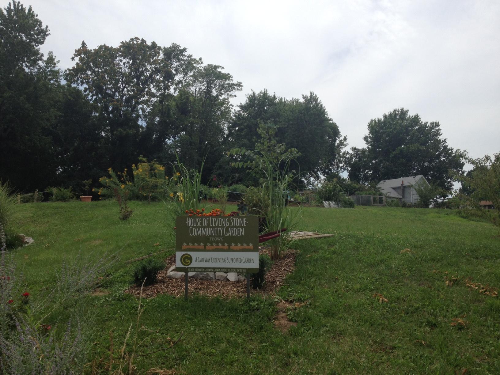 House of Living Stone Community Garden